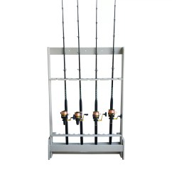 Fishing Chair With Rod Holder Toy Baby Doll High Hydra Shade Polyresin Freestanding