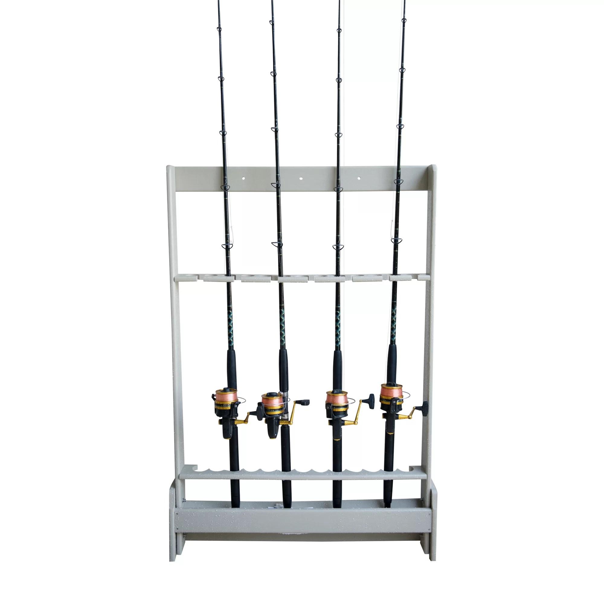fishing chair umbrella holder glider and ottoman canada hydra shade polyresin rod freestanding