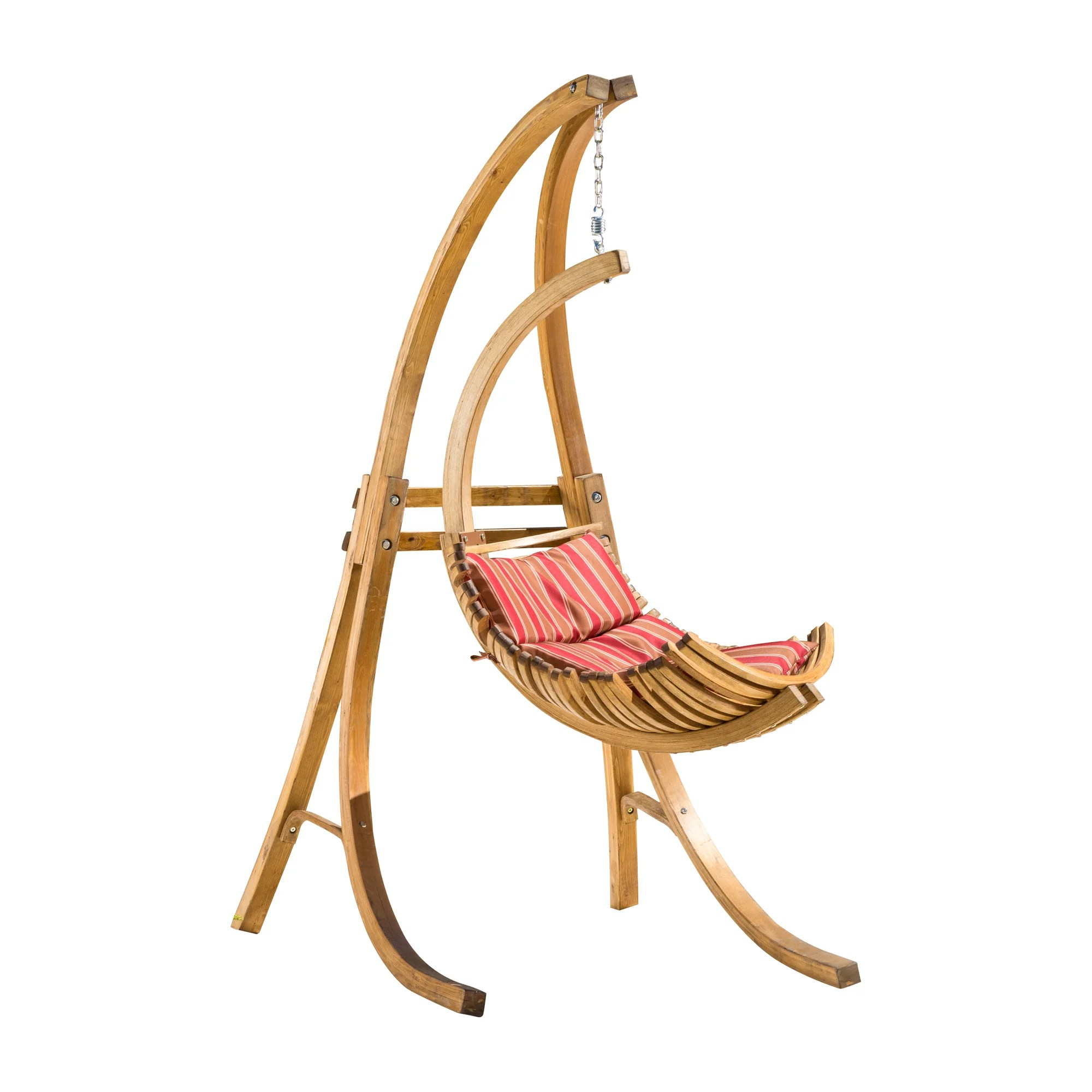 hammock chair stand kijiji best for after back surgery bay isle home calais polyester with