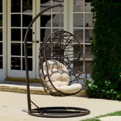 Egg Chair Stand Only Markus Swivel Review Bay Isle Home Duncombe Shaped Outdoor Swing With