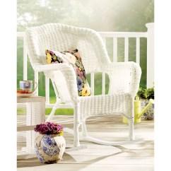 Wicker Rocking Chairs Outdoor Desk Chair Weight Capacity International Caravan Chelsea Resin Patio