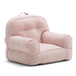 Big Joe Bean Bag Chair Leather Recliner Comfort Research Junior Gingham