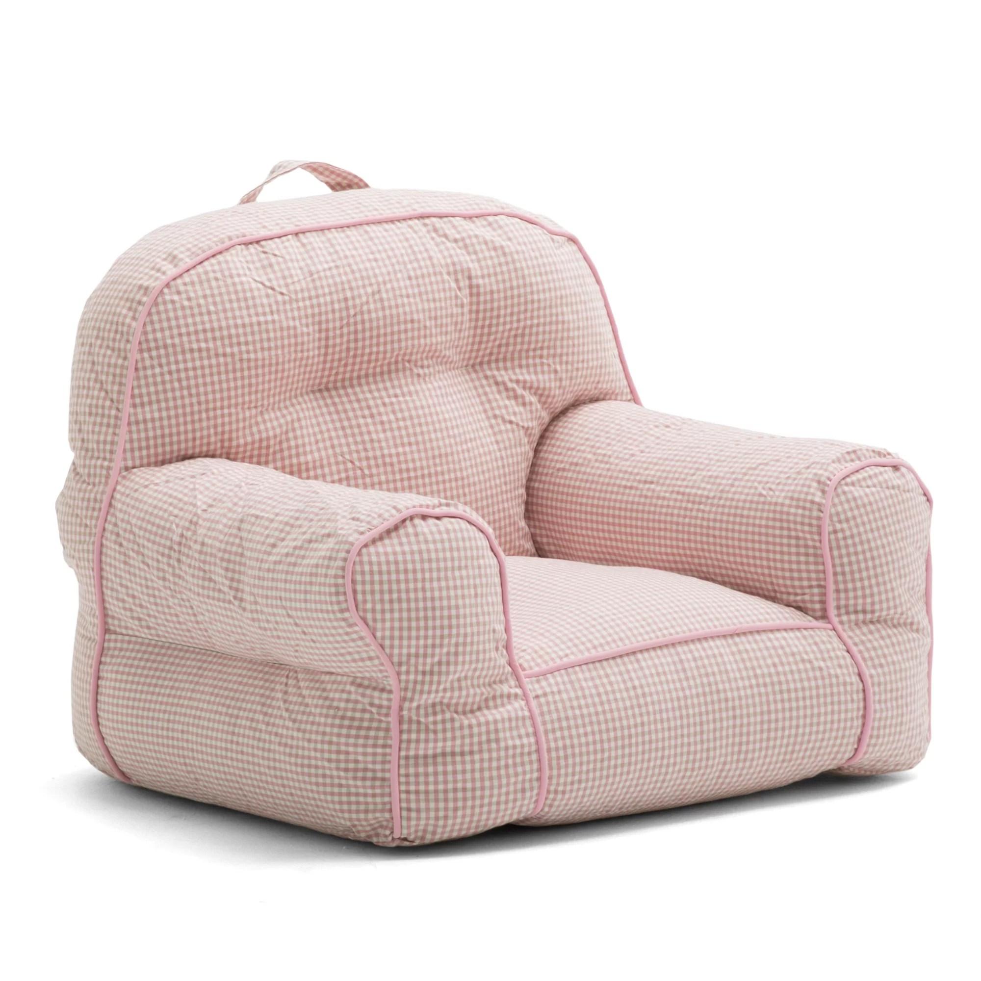 big joe bean bag chair office waiting room chairs cheap comfort research junior gingham