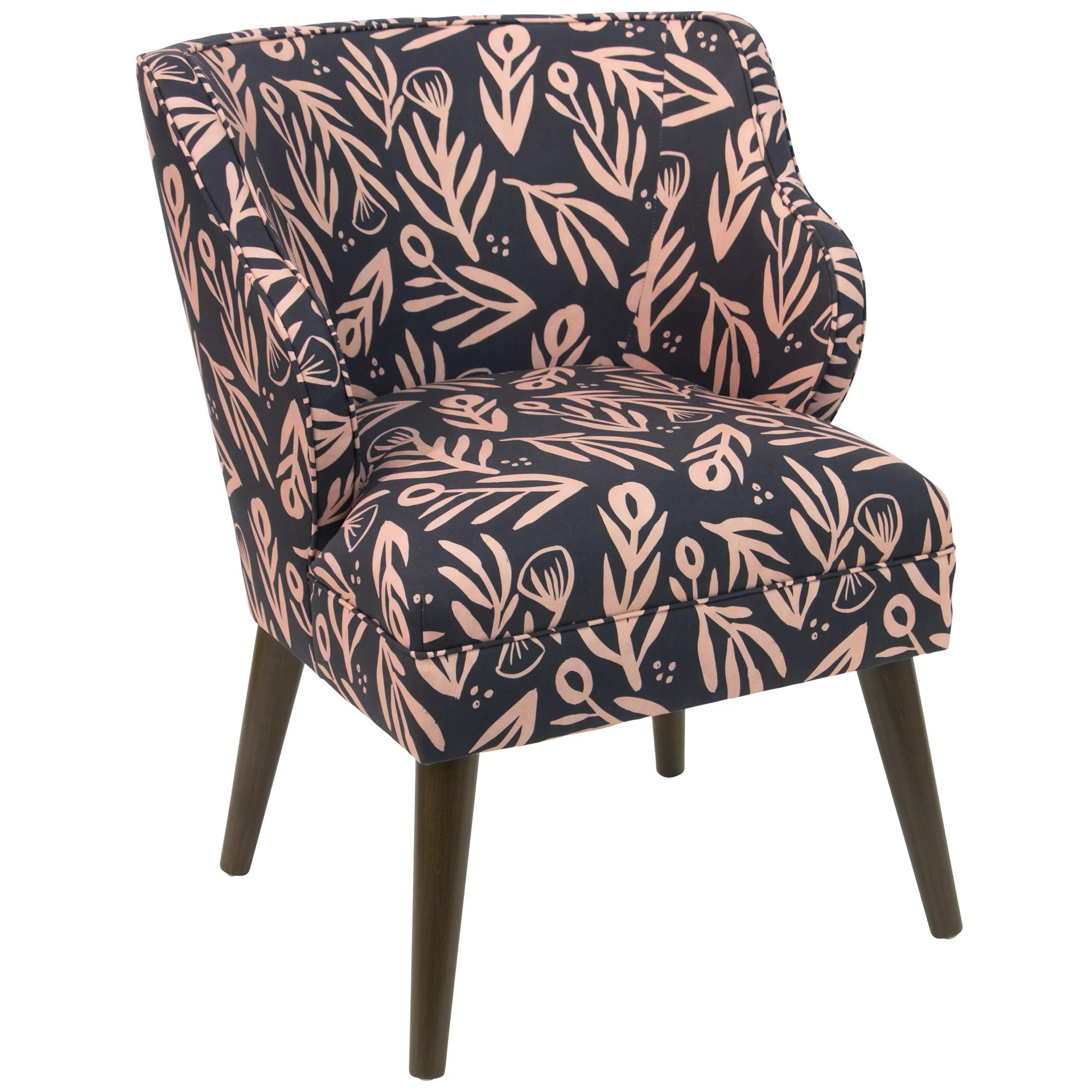 floral arm chair bungee at target brayden studio alejandra modern bold linen cotton
