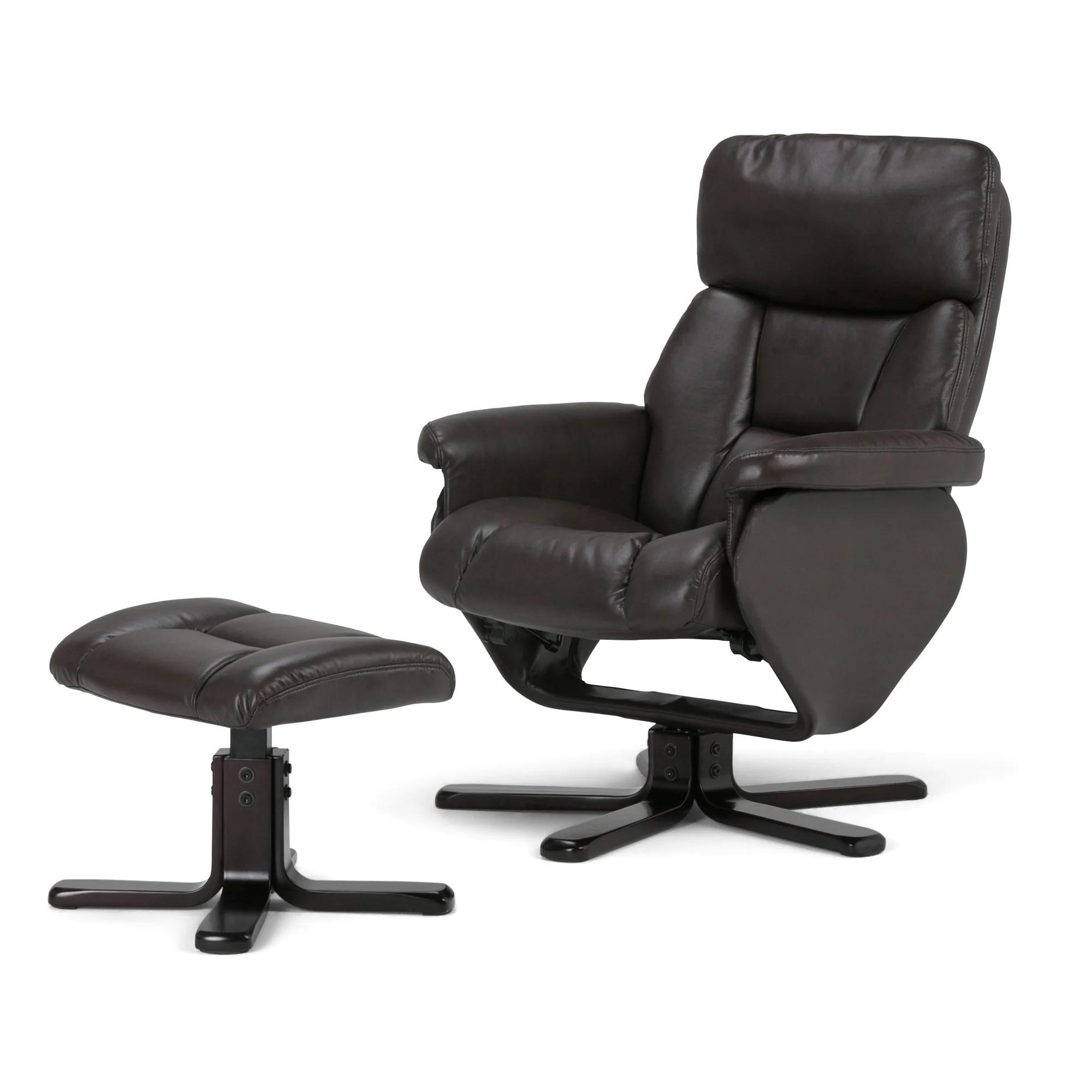 euro recliner chair tractor stool simpli home whitman wayfair ca