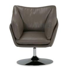 Leather Swivel Barrel Chair Ikea Basket Simpli Home Jasper Air