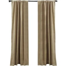 burlap lined curtains