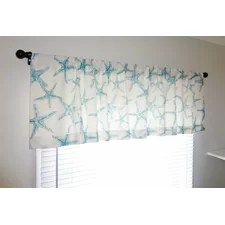 Nautical Valances & Kitchen Curtains You'll Love