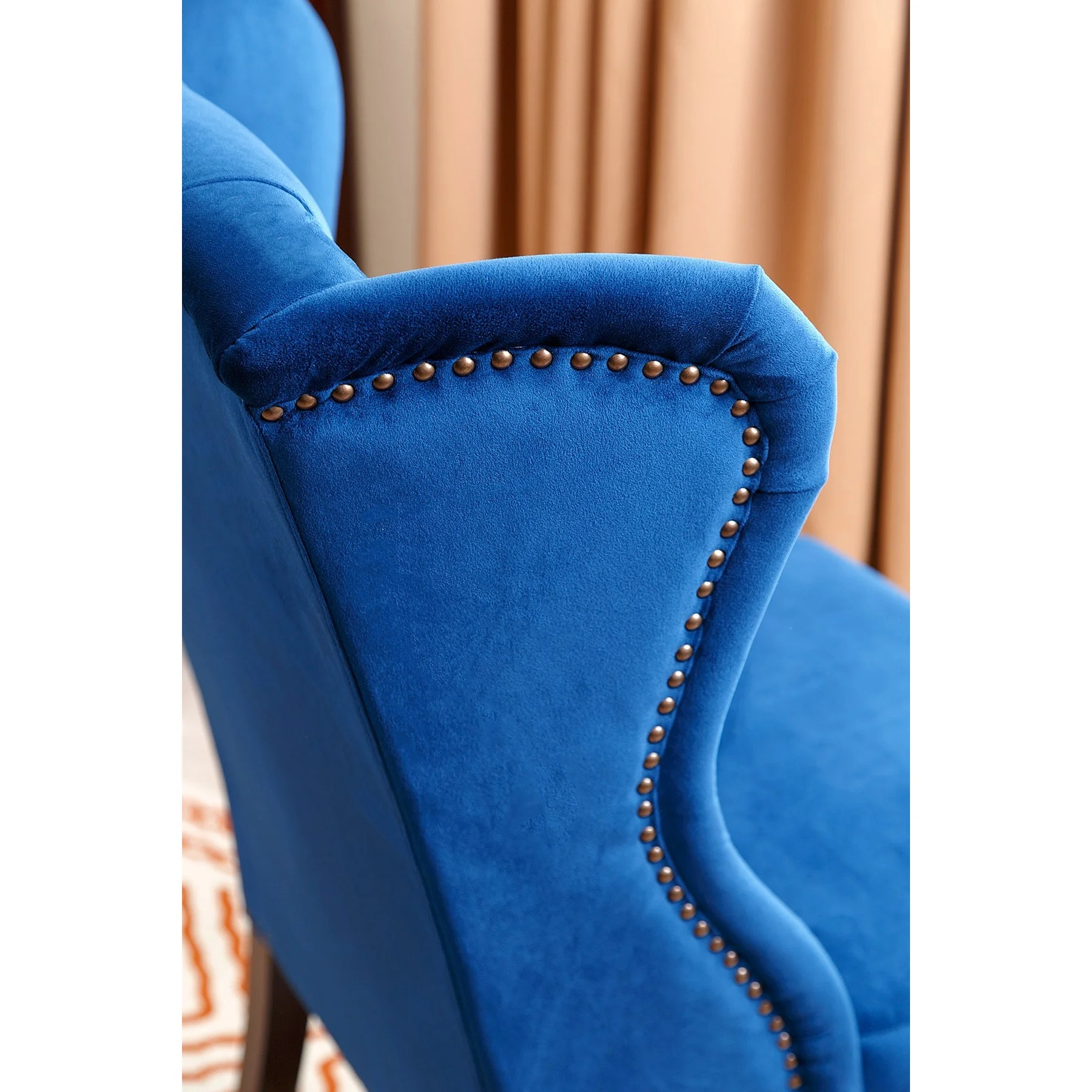 Blue Parsons Chair House Of Hampton Ceallach Parsons Chair In Velvet Navy