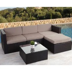 Garten 4-Sitzer Lounge-Set