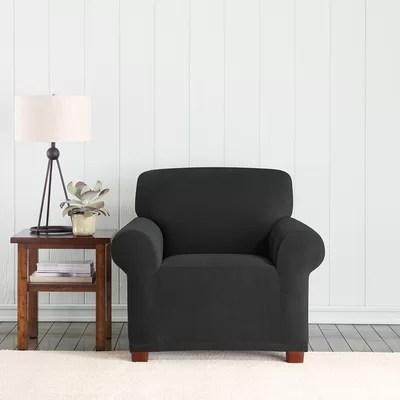 Sure Fit Stretch Pixel Armchair Slipcover  Reviews  Wayfair
