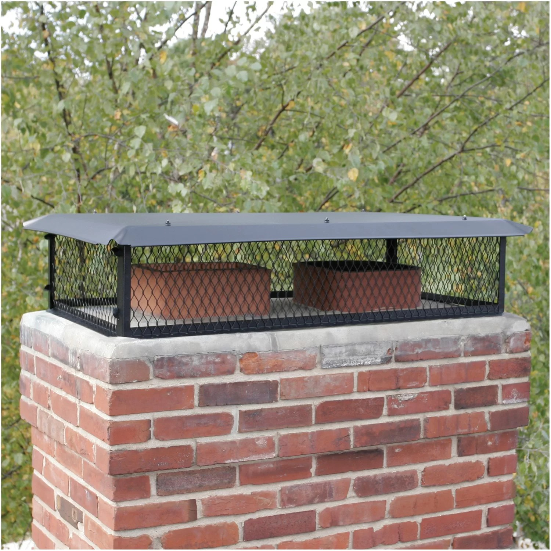 Hy C Bigtop Multi Flue Galvanized Steel Chimney Cap Ebay