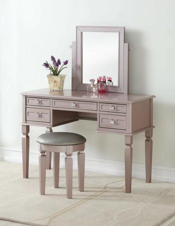 Rosdorf Park Dunnes Vanity Set With Mirror