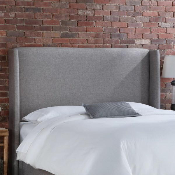 With Upholstered Headboard