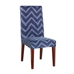 Sure Fit Parsons Chair Slipcovers Covers Hampshire Stretch Chevron Dining Slipcover And Reviews