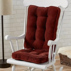Indoor Rocking Chair Cushion Sets Guards For Walls Greendale Cushions Glider Rocker