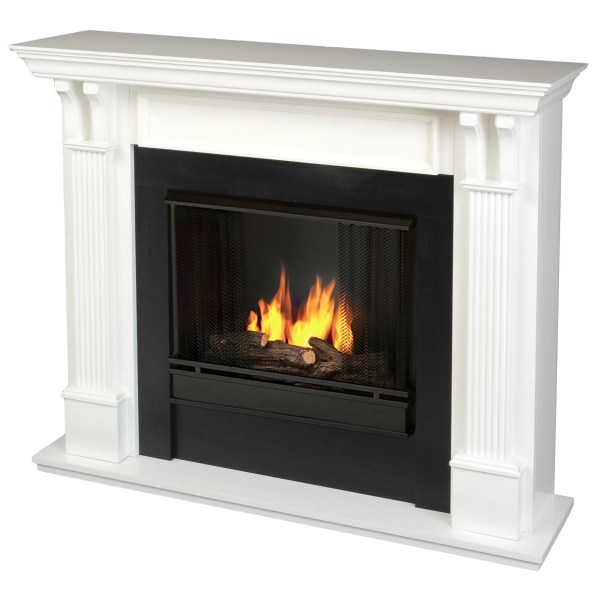 Real Flame Electric Fireplace White