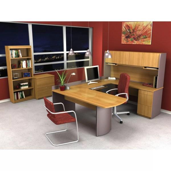 U-shaped Desk Office Suite Set