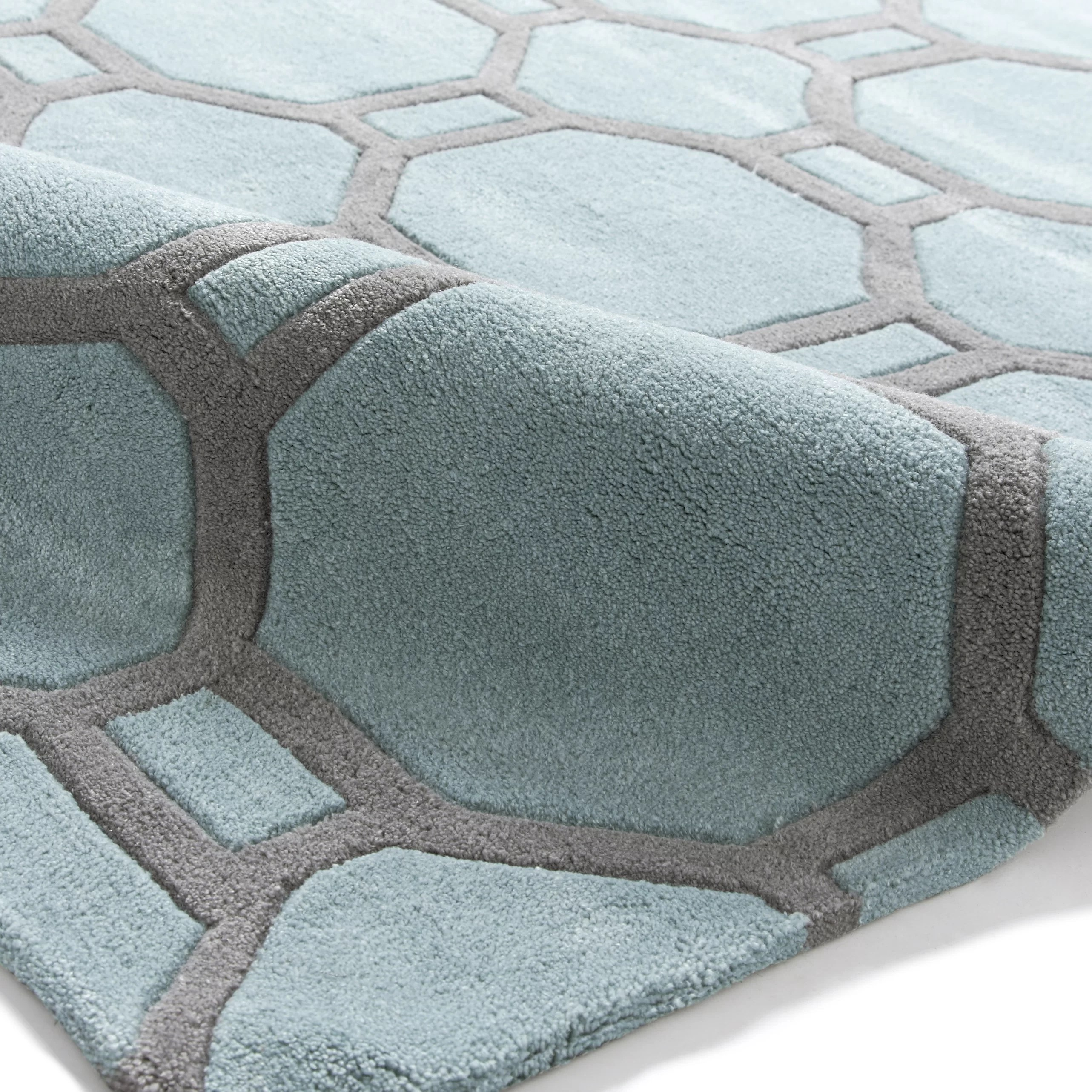 wayfair sofa reviews ben 10 set with chair and table think rugs hong kong hand-tufted duck egg blue area rug ...