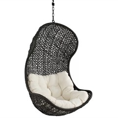 Hanging Chair Game Folding Web Lawn Chairs Aluminum Modway Gamble Swing With Stand And Reviews Wayfair