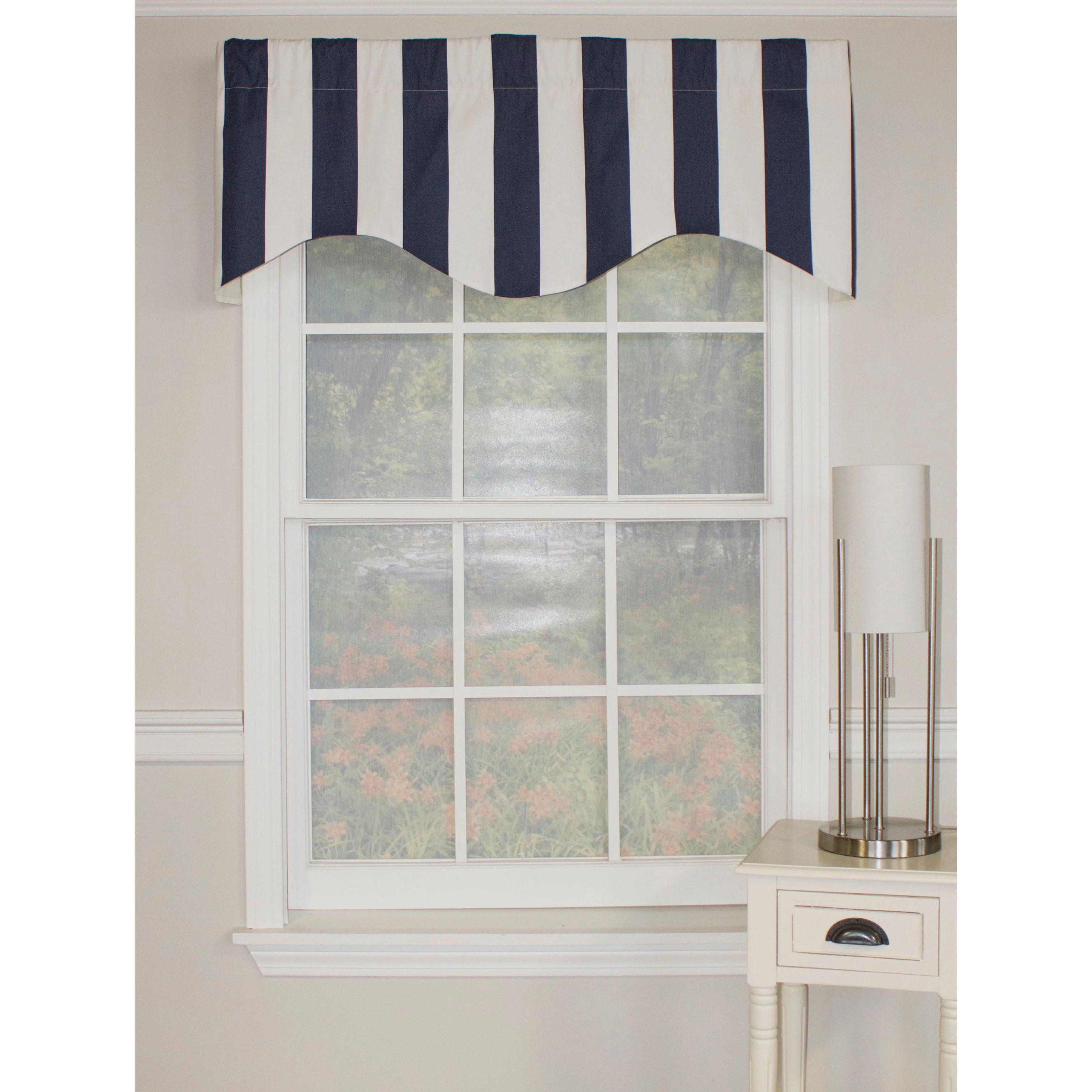 Striped Valances & Kitchen Curtains You'll Love Wayfair