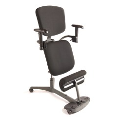 Ergonomic Chair Posture Iron Table And Chairs Health Postures Stance Angle Mid Back Kneeling Wayfair