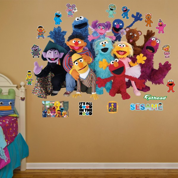 Sesame Street Wall Decals - Home Decor
