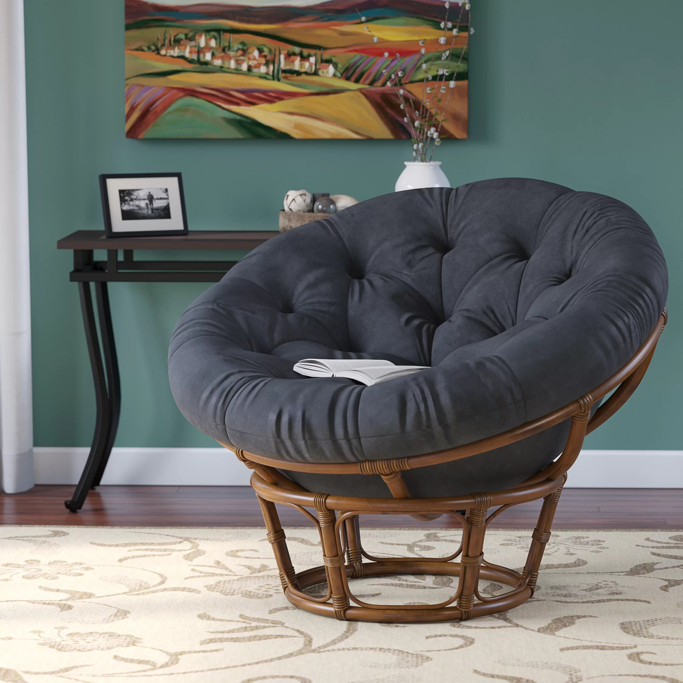 Kids Papasan Chair Andover Mills Deborah Rattan Papasan Chair And Reviews Wayfair
