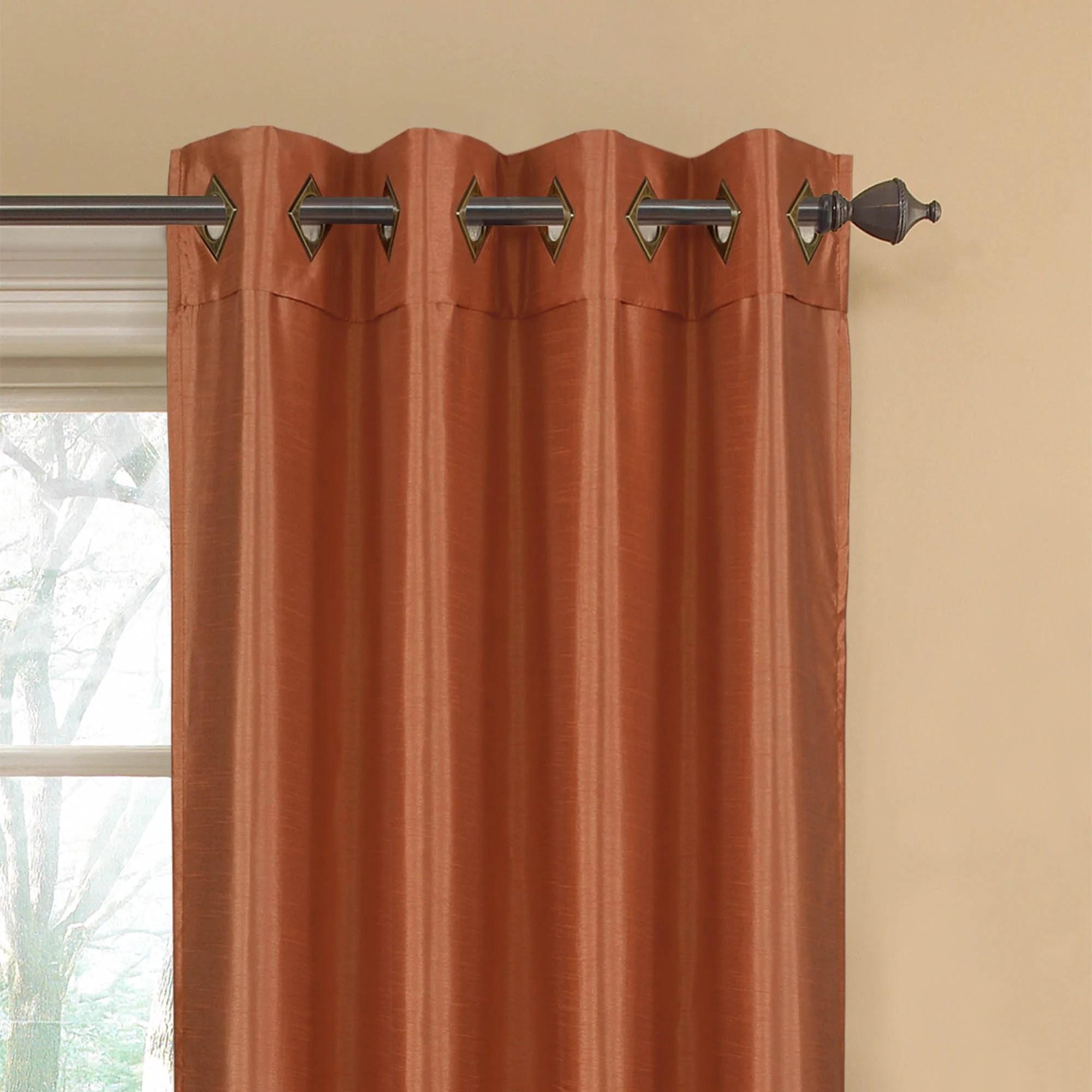 Window Elements Kim Extra Wide Grommet Curtain Panels U0026 Reviews