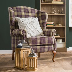 Tartan Dining Chair Covers For Sale Leather Desk Australia Alpenhome Tozi Chrome And Wood Lantern Reviews Wayfair