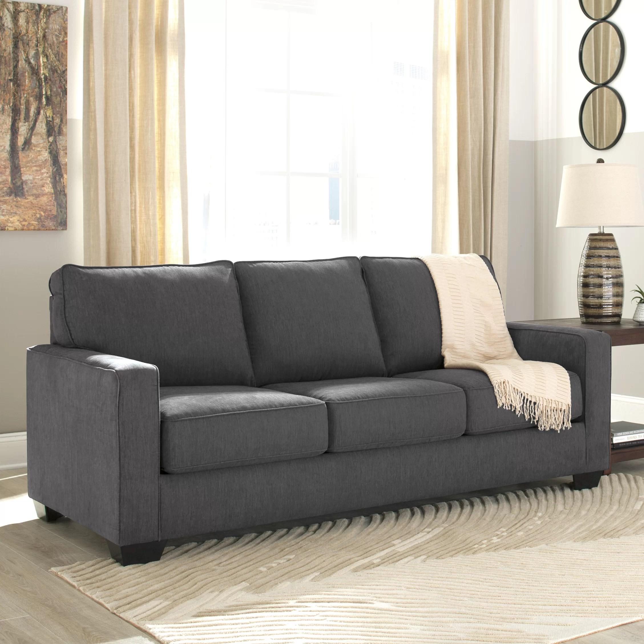 Benchcraft Zeb Queen Sleeper Sofa  Reviews  Wayfairca