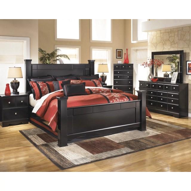 Black Master Bedroom Set
