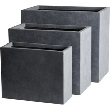 Lakasallc Modern Composite Planter Box &