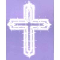 Northlight Lighted Religious Cross Easter Window ...