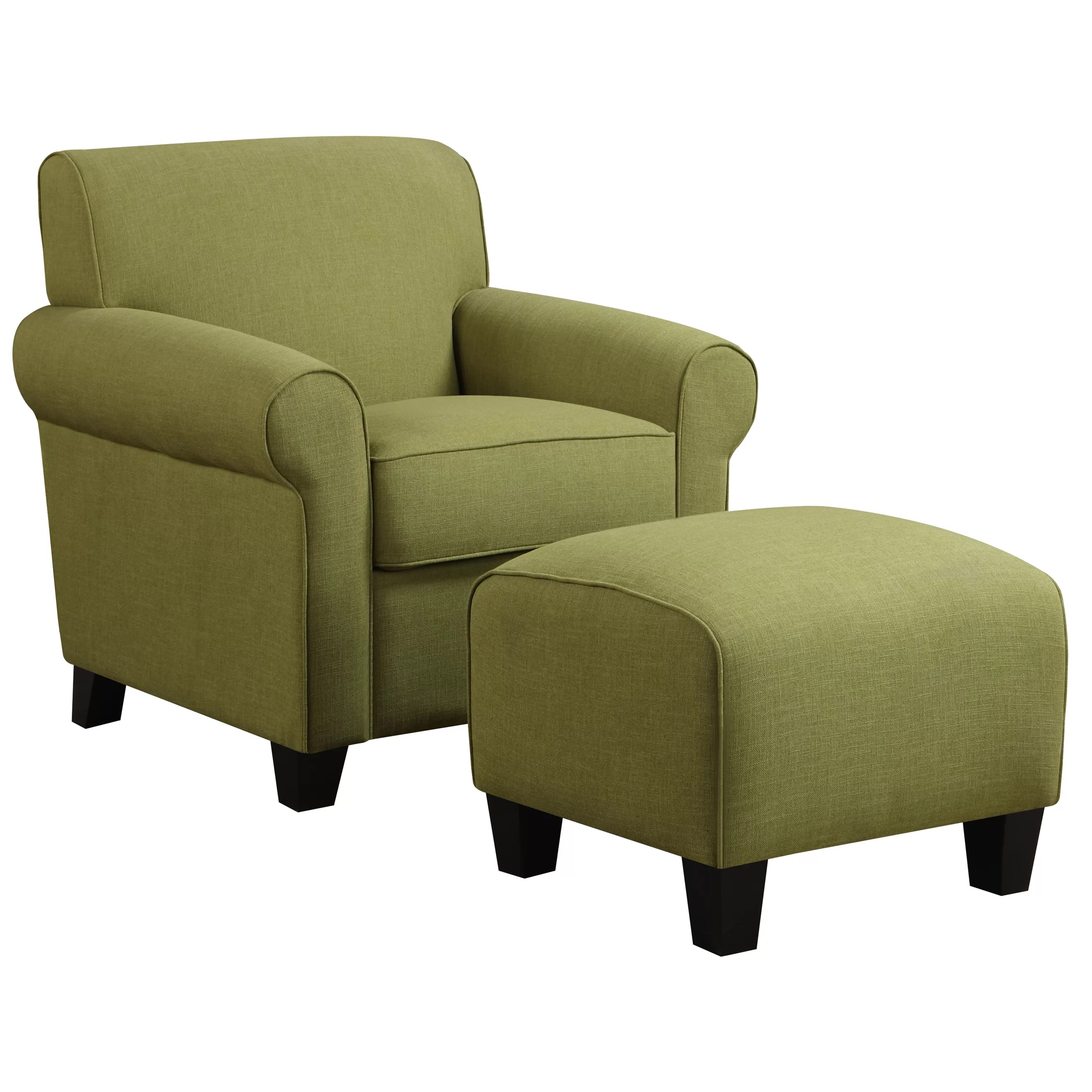 Reading Chair And Ottoman Alcott Hill Oldbury Arm Chair And Ottoman And Reviews Wayfair