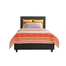 Varick Spruce Hill Upholstered Platform Bed