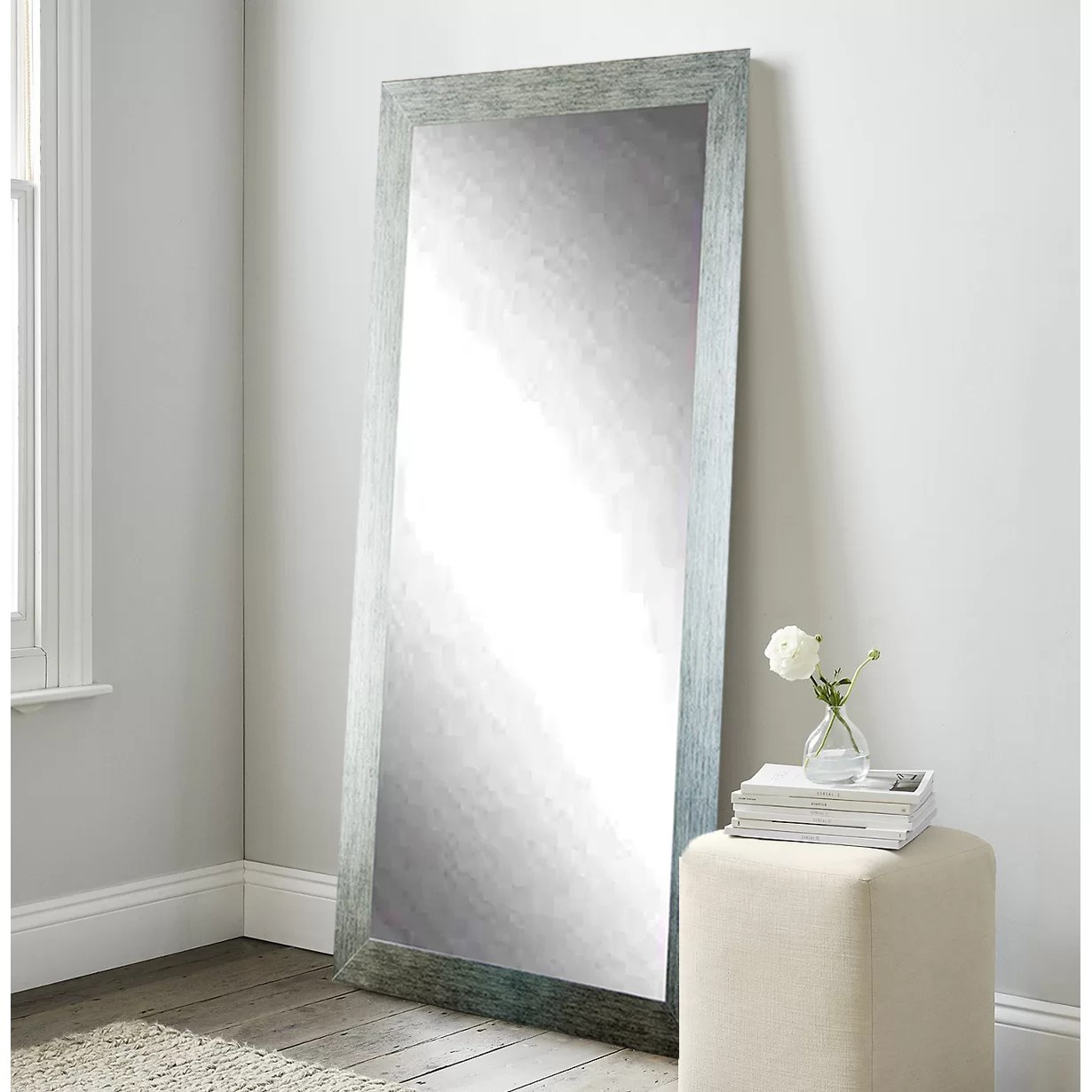 Wade Logan Jameson Rectangle Full Length Floor Mirror  Reviews  Wayfairca