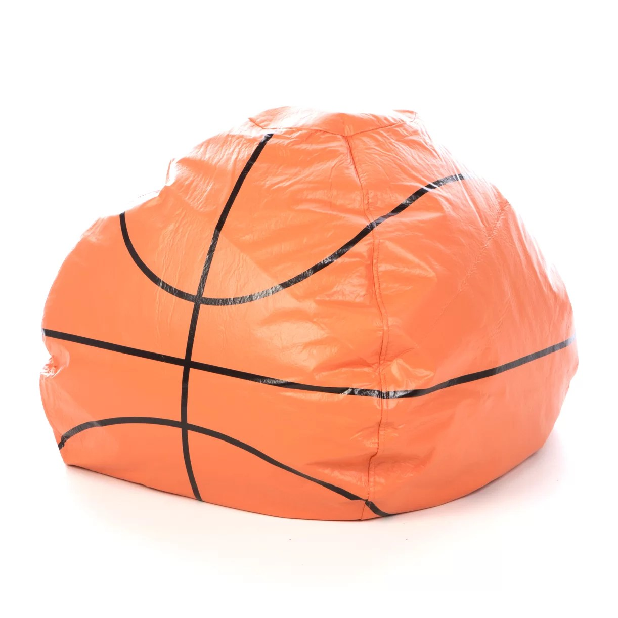 football bean bag chair cheap outdoor table and chairs basketball home decor