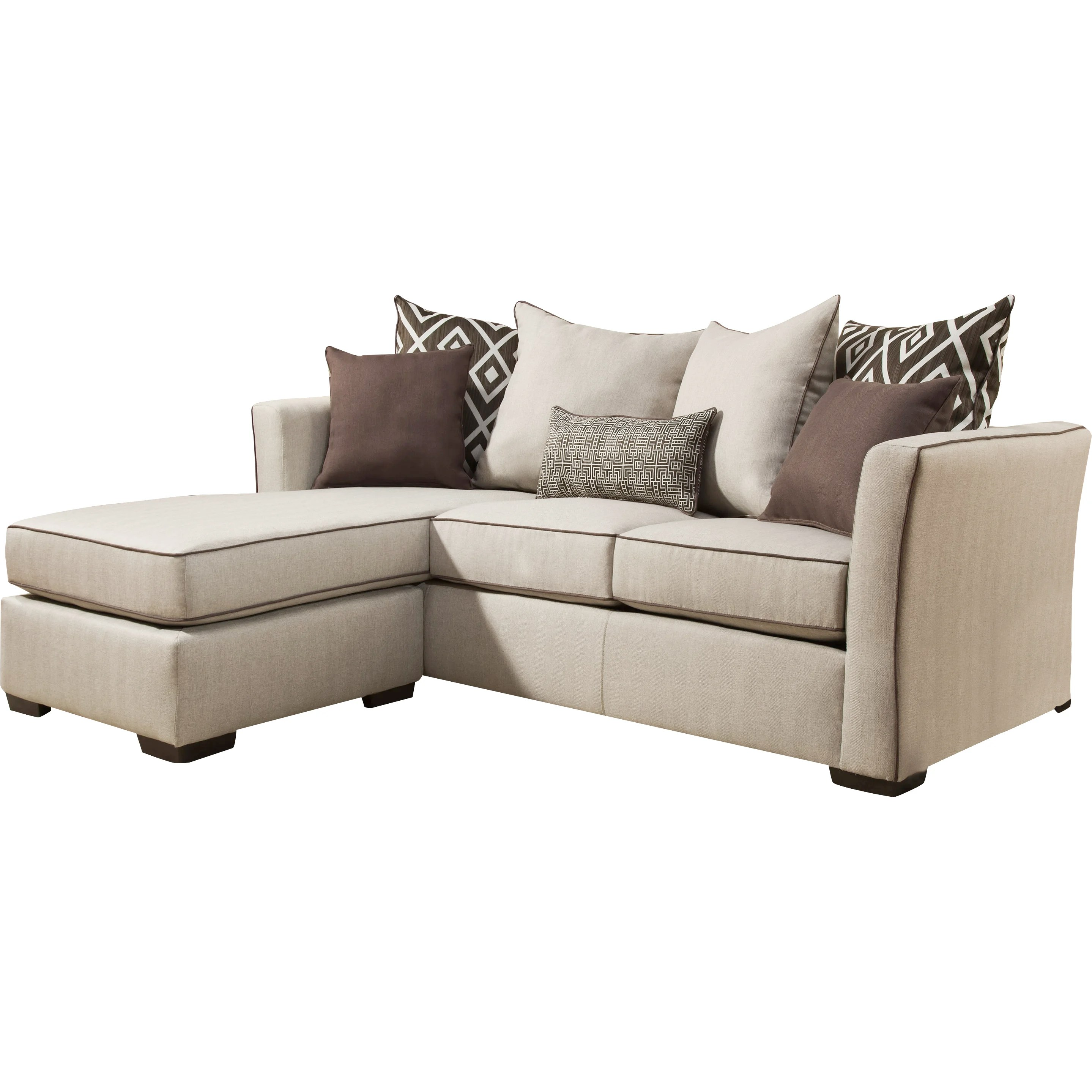 simmons reversible chaise sofa spectra home recliner upholstery araceli sectional