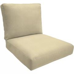 Sunbrella Chair Cushion Small Club Chairs Wayfair Custom Outdoor Cushions Double Piped
