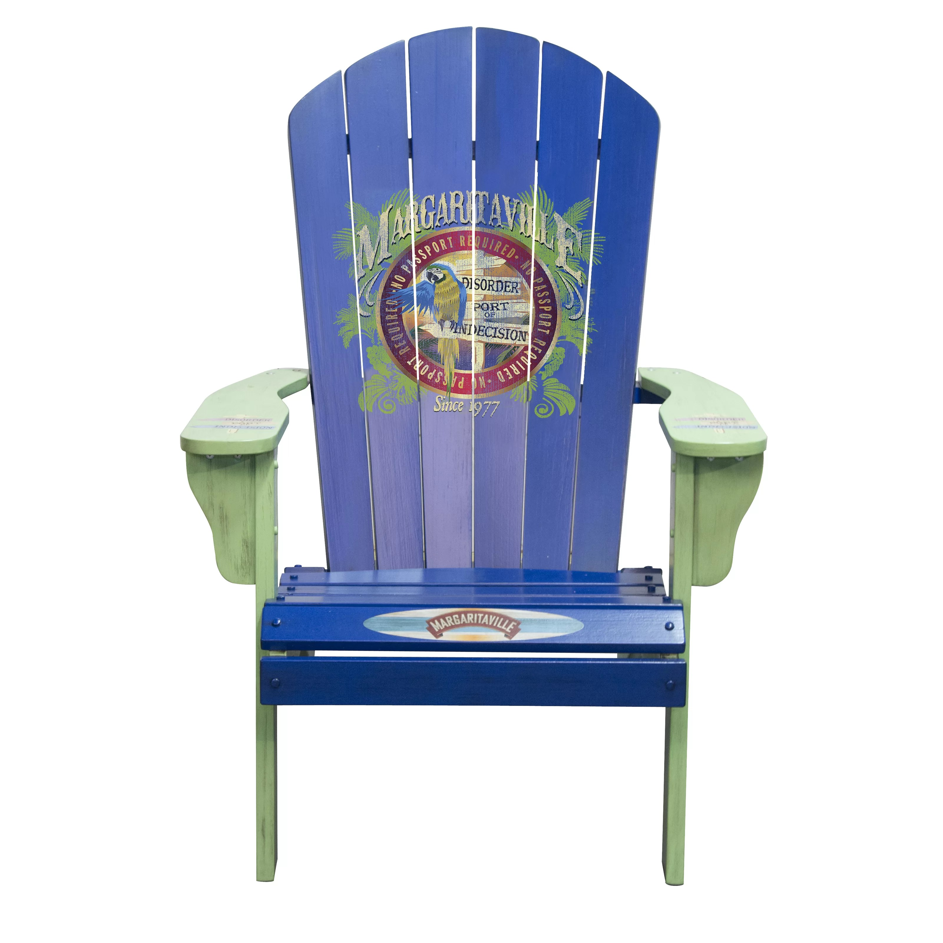 margaritaville chairs for sale hanging hammock chair outdoor quotport of indecision quot adirondack
