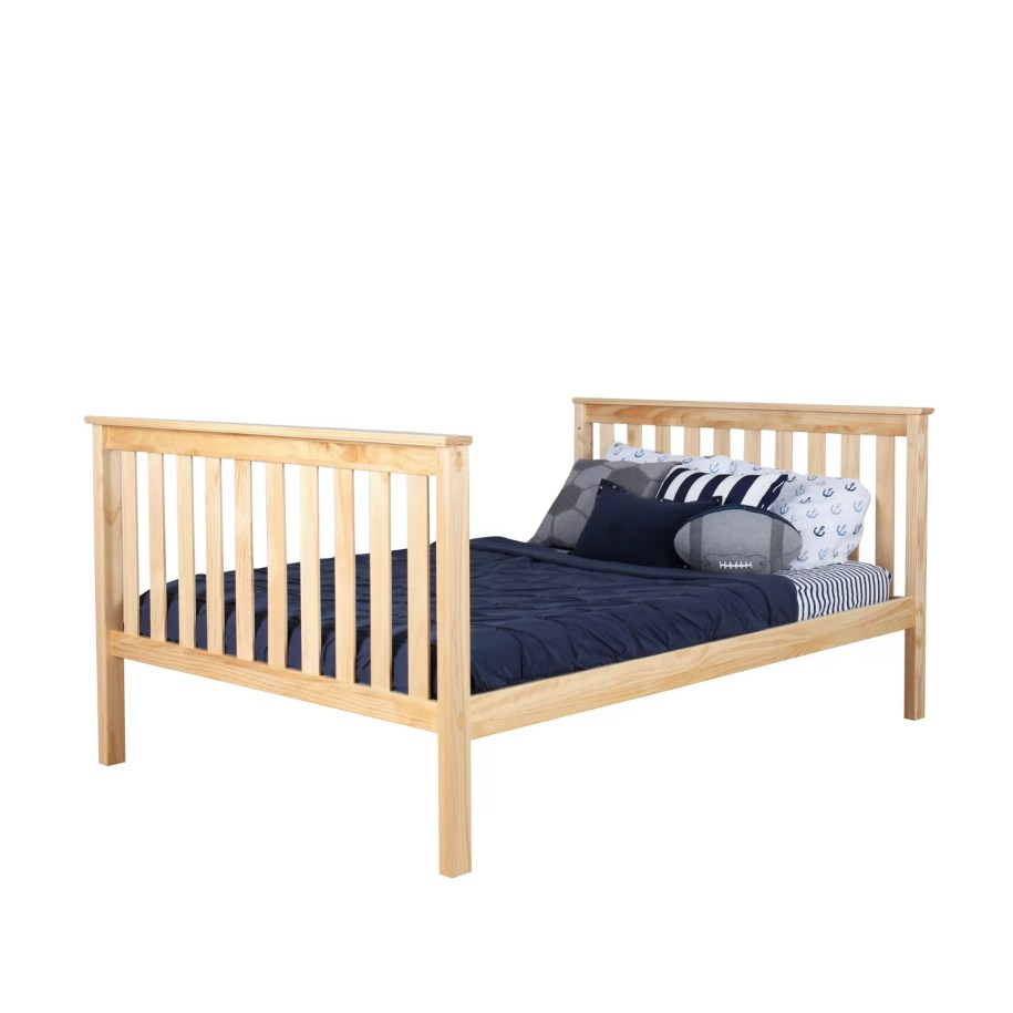 Max & Lily Solid Wood Twin Over Full Bunk Bed with Trundle ...