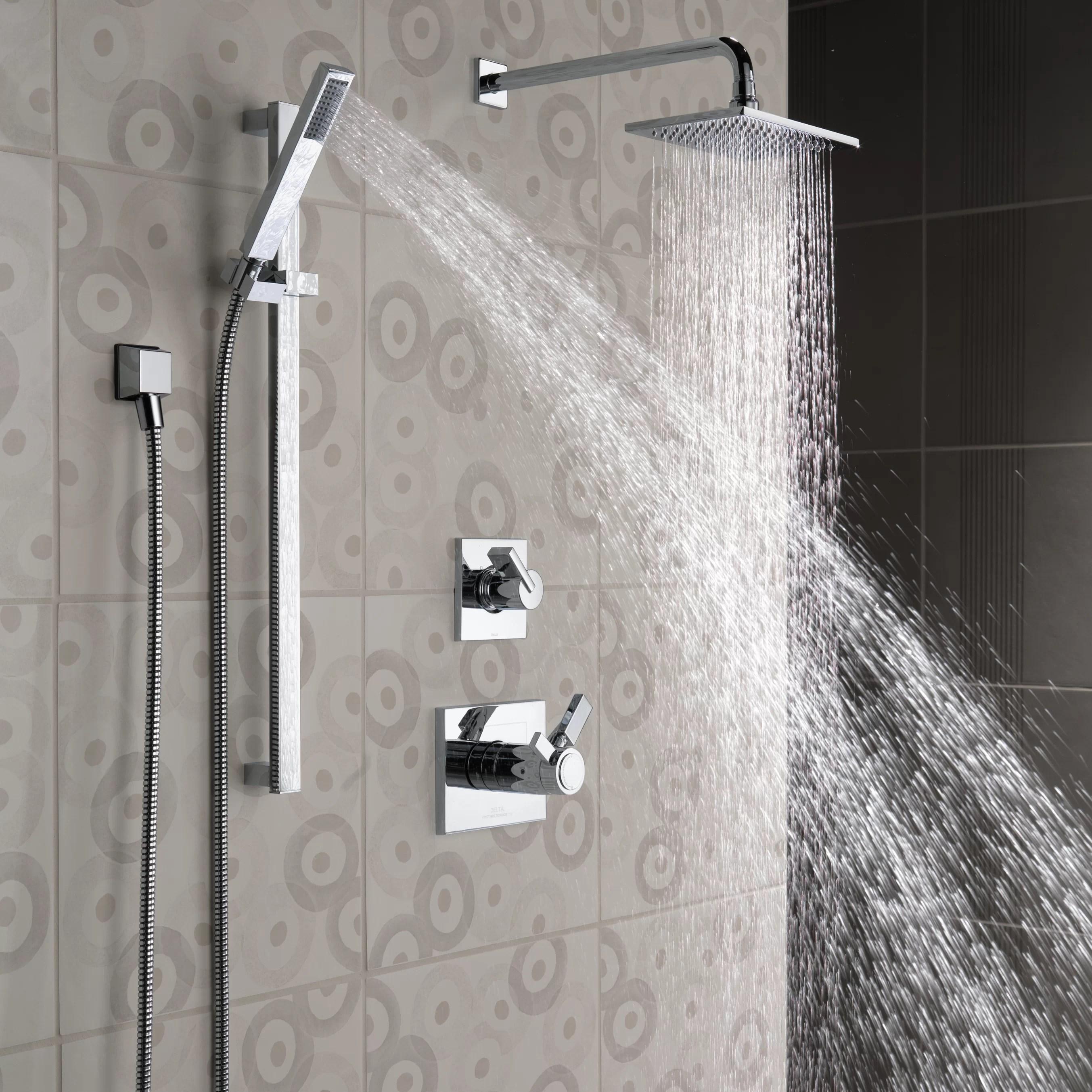 Delta Vero Slide Bar Hand Shower  Reviews  Wayfair