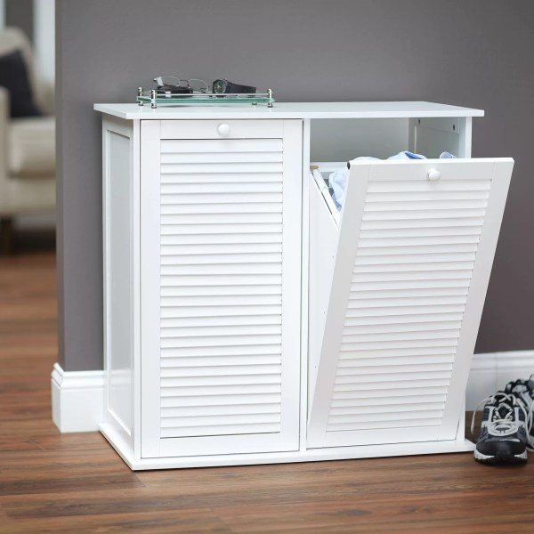 Household Essentials Cabinet Laundry Hamper &