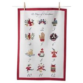 12 Days Tea Towel (Set of 3)