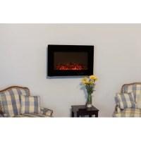 Fire Sense Wall Mount Electric Fireplace & Reviews   AllModern