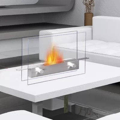 Anywhere Fireplaces Metropolitan BioEthanol Tabletop Fireplace  Reviews  Wayfair