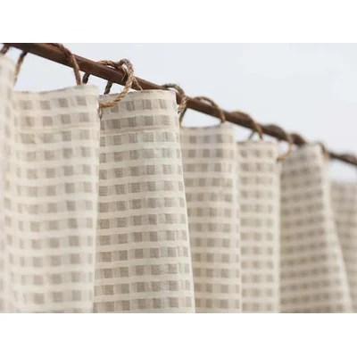 Coyuchi Birch Cotton And Linen Shower Curtain & Reviews Wayfair
