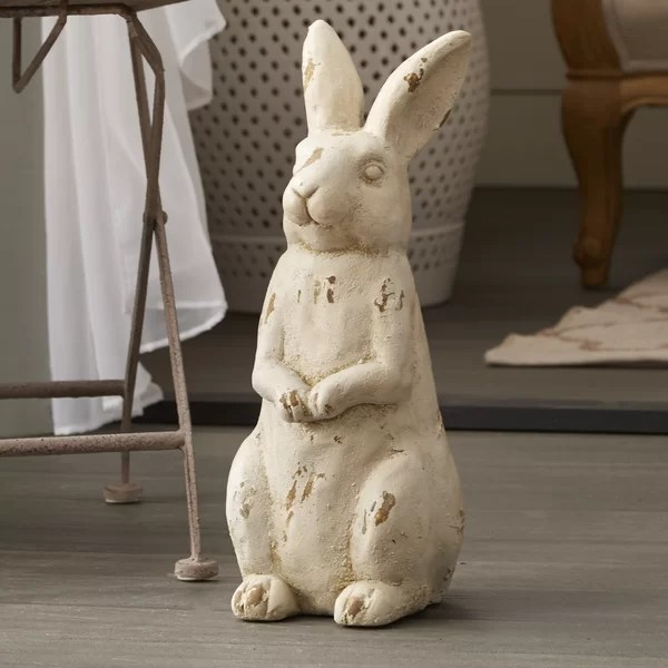 free standing kitchen pantry cabinet thermador rabbit figurine & reviews | joss main