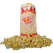 Burst Design Popcorn Bag (Set of 150)